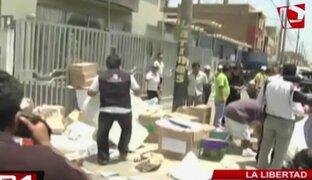 Trujillo: denuncian hallazgo de actas electorales en un basural