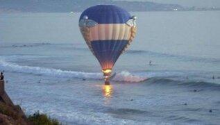 EEUU: propuesta de matrimonio en globo aerostático casi termina en accidente