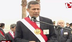 Presidente Humala exhorta al Congreso a revisar normas electorales