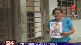 Puente Piedra: niña de seis años lleva desaparecida una semana