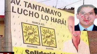 SMP: muere cuando retiraba cartel de propaganda política