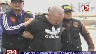 Cercado de Lima: capturan a estafador conocido como 'El Elegante'