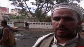 Yemen: atentado suicida en plaza Tahrir deja casi 50 muertos