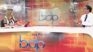 """César Palomino: """"Premier Jara debe evaluar permanencia de ministra de Salud"""""""