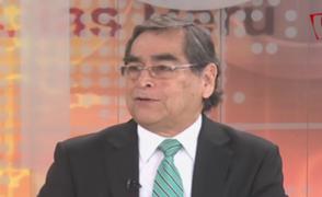 """Óscar Ugarte: """"Ingreso del sector privado a salud sería positivo con políticas claras"""""""