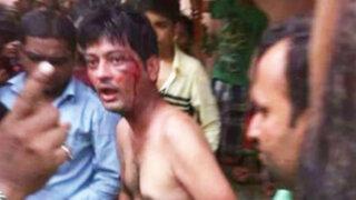 Turba enfurecida castra a violador con un cuchillo de carnicero en la India