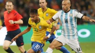 Bloque Deportivo: Brasil derrotó 2-0 a Argentina en Beijing