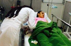 Gladys Tejeda sufre descompensación en maratón de Panamericana Running