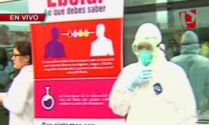 Conoce las medidas de control contra el ébola que se aplican en el aeropuerto