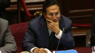 Toledo también se negó a responder en comisión Orellana