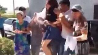 Kazajistán: familiares arrastran a una adolescente para contraer matrimonio