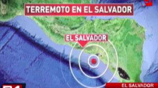 Terremoto de magnitud 7.4 remece El Salvador y deja un muerto