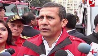 Presidente Humala: Gobierno pondrá en valor la red de aeropuertos y aeródromos