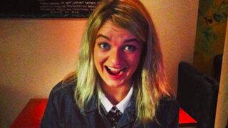 FOTOS: sin saberlo, esta joven regresó de viaje con algo aterrador en su nariz