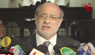 Daniel Abugattás es investigado en la Fiscalía por enriquecimiento ilícito