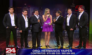 Los Hermanos Yaipén y su participación en concierto 'Cuando pienses en volver'