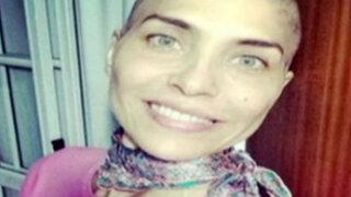 Actriz argentina Lorena Meritano asegura que superó el cáncer