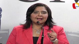 Ana Jara cuestiona duramente citación de Comisión López Meneses
