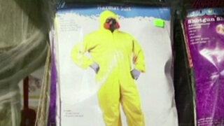 EEUU: polémica por disfraz de traje de protección contra el ébola