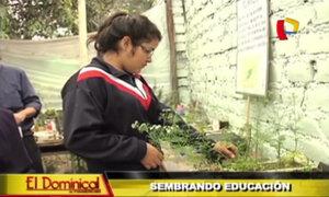 Sembrando educación: profesores y alumnos se unen para conservar medio ambiente