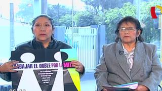 Trabajadoras del hogar piden que Estado ratifique convenio que reconoce sus derechos