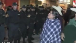 Cajamarca: Policía se enfrentó a ronderos que intentaron cerrar una discoteca
