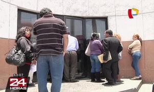 Detenido se suicidó dentro de la sede de Requisitorias en La Victoria