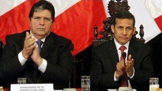 Las reacciones en el Congreso tras las críticas de Alan García contra Ollanta Humala