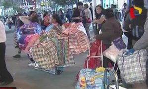 La Victoria: cerca de 10 mil ambulantes serán desalojados de Gamarra