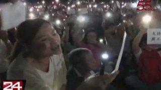 Hong Kong: ciudadanos salen a las calles para pedir orden en la región