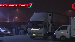Policía recuperó camión con millonaria mercadería que fue robado en Ancón