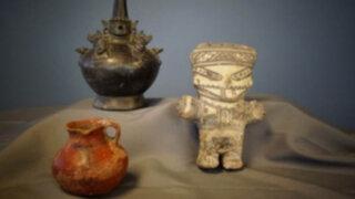 EEUU devuelve valiosas piezas arqueológicas sustraídas del Perú