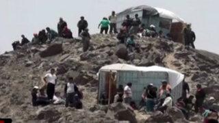 Huachipa: desarticulan banda de traficantes de terrenos