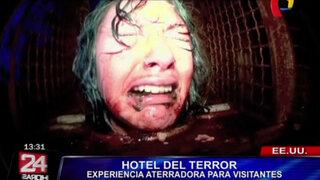 Así es pasar una noche en el hotel más terrorífico de Estados Unidos