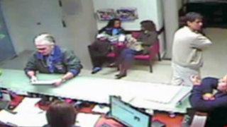 San Isidro: Policía busca a ancianos delincuentes que robaron en laboratorio