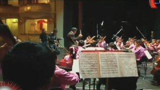 El talento en la sangre: Un día con los niños de Sinfonía por el Perú
