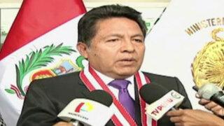 """Suspendido fiscal Carlos Ramos: """"Yo no voy a renunciar, yo peleo hasta el final"""""""