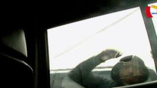 Surquillo: capturan a 'bujieros' tras robar a pasajeros de taxi