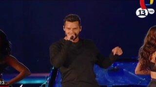 Exitosa gira de Ricky Martin en Latinoamérica cautivó a miles de fanáticos