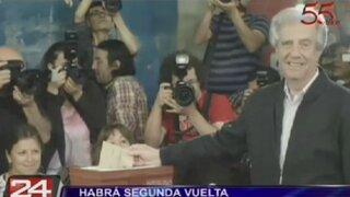 Uruguay: segunda vuelta entre Vázquez y Lacalle se realizará el 30 de noviembre