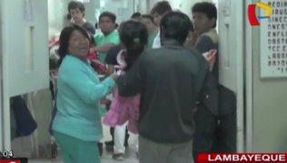 Lambayeque: niños intoxicados con alimentos de Qali Warma fueron dados de alta