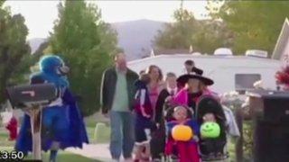 EEUU: pobladores se unen para celebrar cumpleaños de niño con cáncer terminal