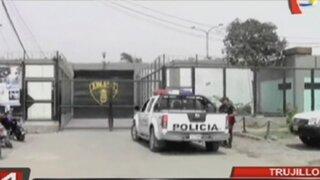 Trujillo: interno fue asesinado a balazos en penal El Milagro