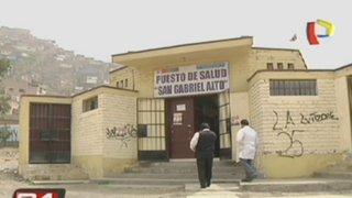 Delincuentes asaltaron un Centro de Salud en VMT
