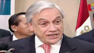 Piñera considera que Perú recuperará capacidad de crecimiento
