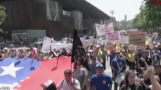 Chile: continúan protestas contra la reforma educativa de Bachelet