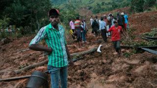 Gigantesco alud deja más de 100 muertos y 300 desaparecidos en Sri Lanka