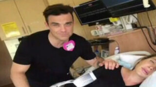 Espectáculo internacional: Robbie Williams publica videos sobre el parto de su esposa