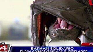 Ben Affeck se unió a campaña que busca proteger a los murciélagos
