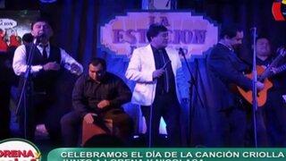 Día de la Canción Criolla: Nicolasa inició la celebración con Los Ardiles